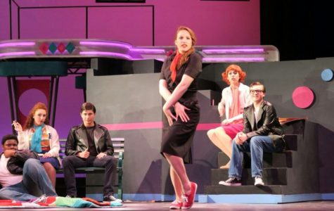 The cast of Grease.