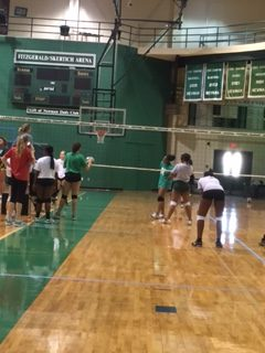Volleyball: Week 2