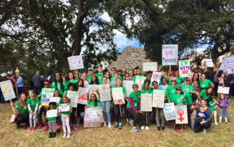 Newomen Club Well Represented at New Orleans Women's March