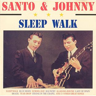 Sleep Walk by Santo & Johnny