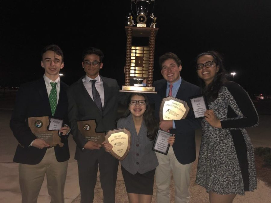 Speech and Debate District Tournament