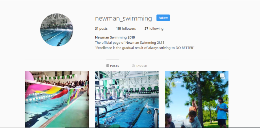 Swim Team Update: Instagram Edition