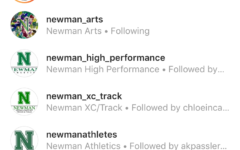 Newman Instagrams