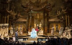 A performance of Turandot at the Metropolitan Opera New York