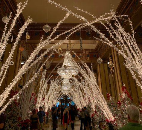 The Roosevelt Hotel Lobby Lights