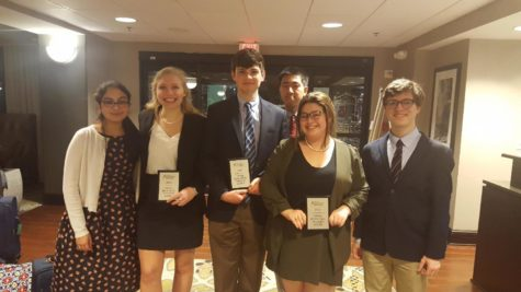 Congressional National Qualifier and the Debate Team