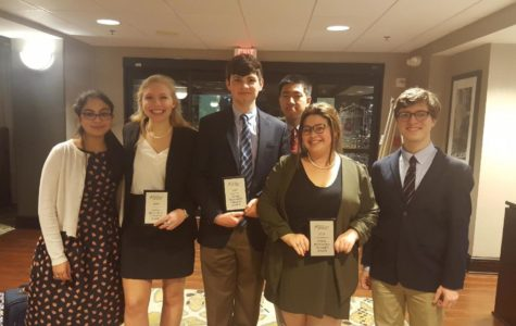Congressional National Qualifier and the Debate Team's Recent Successes