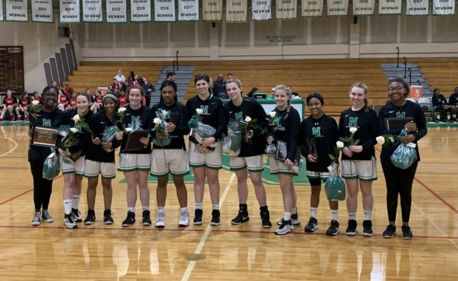 Women's Basketball Senior Night!