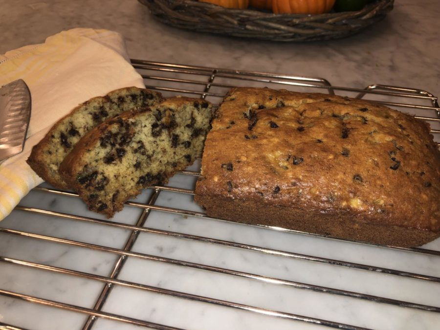 The Best Chocolate Chip Banana Bread Ever