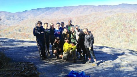 My Kanuga group on top of John Rock