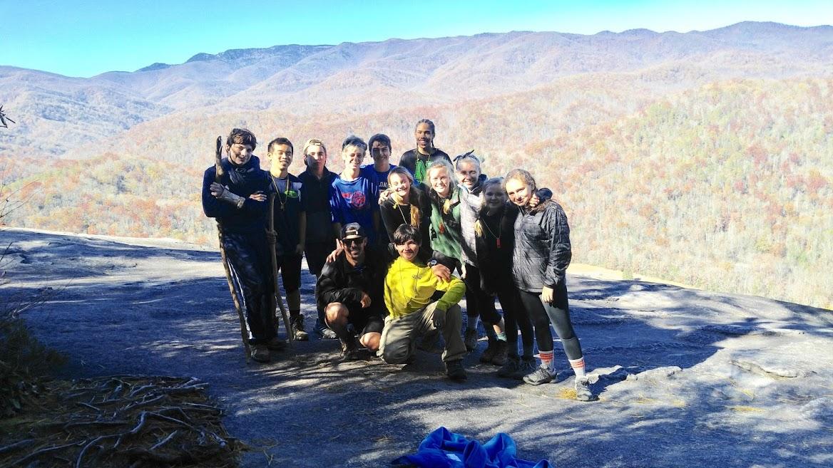 My Kanuga group on top of John Rock