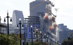 Demolition of the Hard Rock Hotel