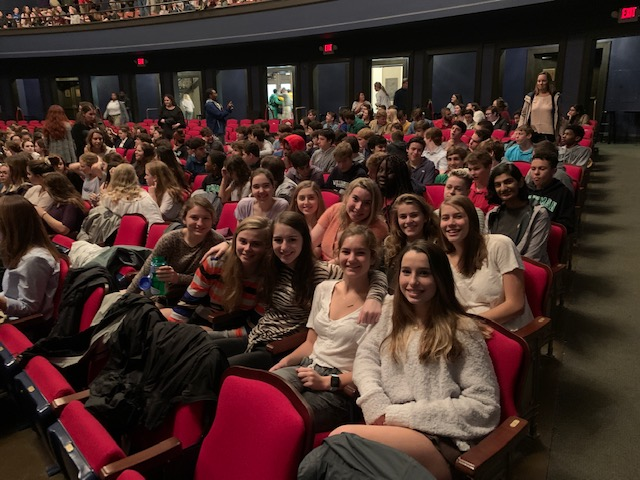 Sophomores Attend Hamlet Performance