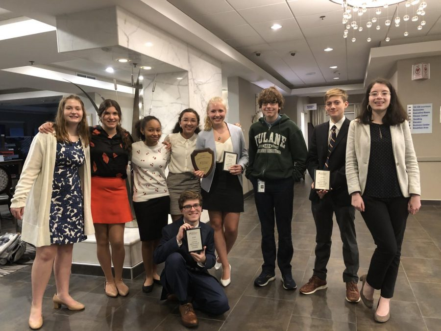 The+Speech+and+Debate+team+at+the+Congressional+National+Qualifying+Tournament+
