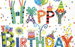 Birthdays at home - are they that bad?