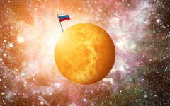 What does Russias claim on Venus mean?