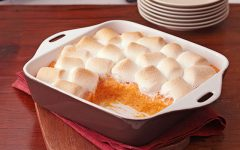 Recipe For The Classic Thanksgiving Sweet Potatoes With Marshmallows