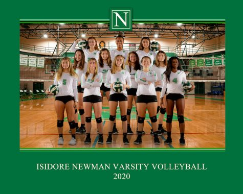 Newman Volleyball